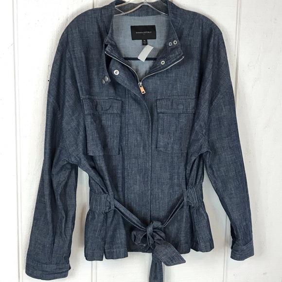 Banana Republic Jackets & Blazers - Banana republic XL spring Jean coat.